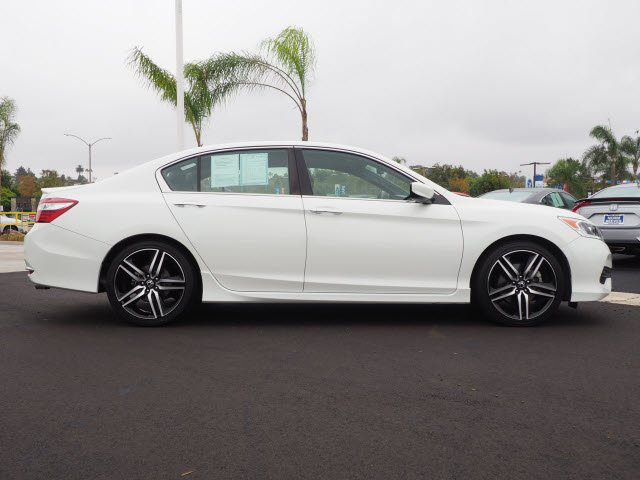 Certified Pre-Owned 2017 Honda Accord Sedan Sport Special Edition