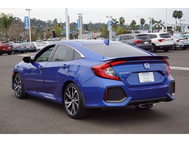 Certified Pre-Owned 2017 Honda Civic Sedan Si