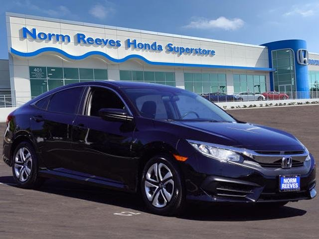 Honda Civic Certified Pre Owned >> Certified Pre Owned 2018 Honda Civic Sedan Lx Fwd 4dr Car