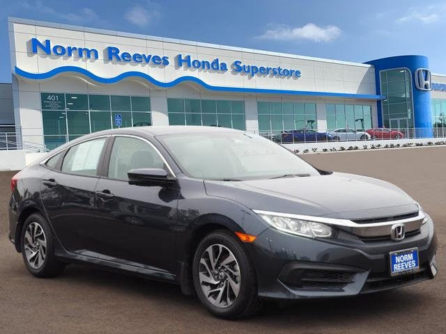 Honda Civic Certified Pre Owned >> Certified Pre Owned 2017 Honda Civic Sedan Ex Fwd 4dr Car