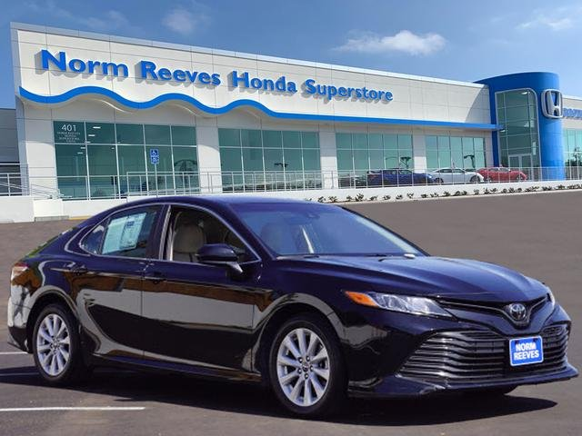 2018 Toyota Camry Le >> Pre Owned 2018 Toyota Camry Le Fwd 4dr Car