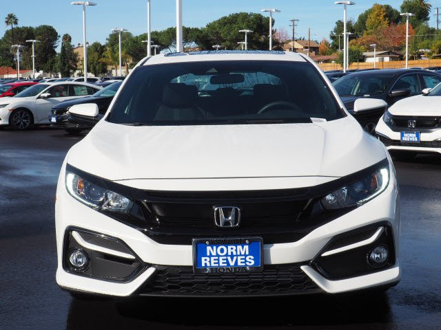 New 2020 Honda Civic Hatchback Ex Fwd Hatchback