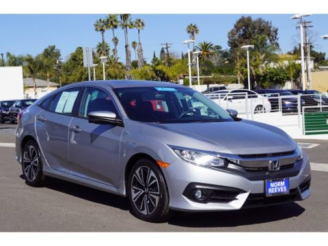 Certified Pre-Owned 2016 Honda Civic Sedan EX-L